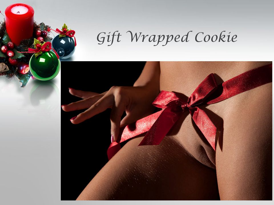 Gift Wrapped Cookie