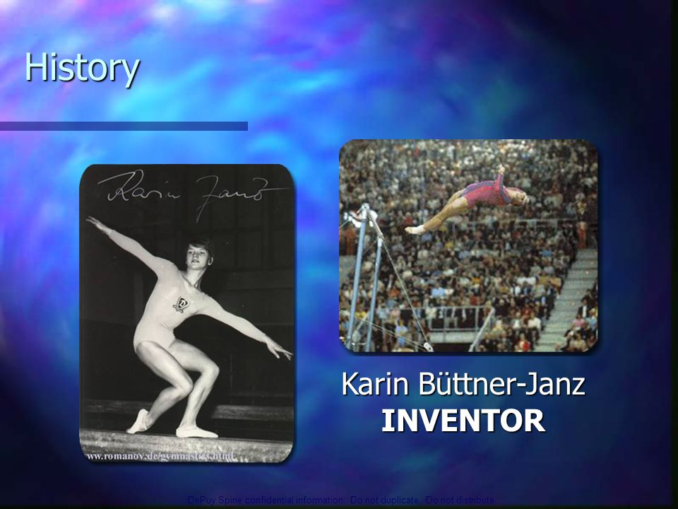 History Karin Büttner-Janz INVENTOR