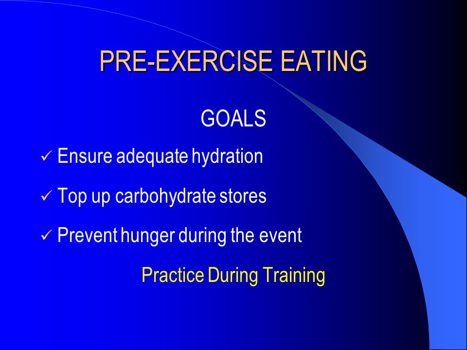 Practice During Training