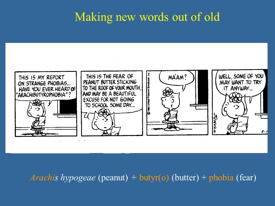 Making new words out of old
