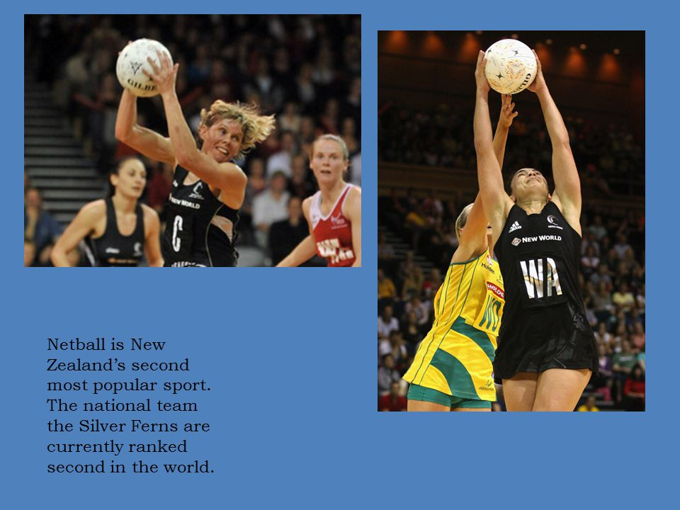Netball is New Zealand's second most popular sport