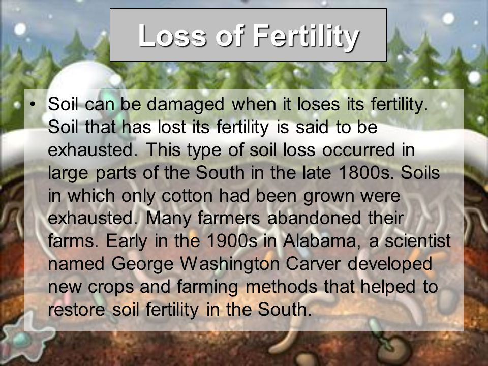 Loss of Fertility