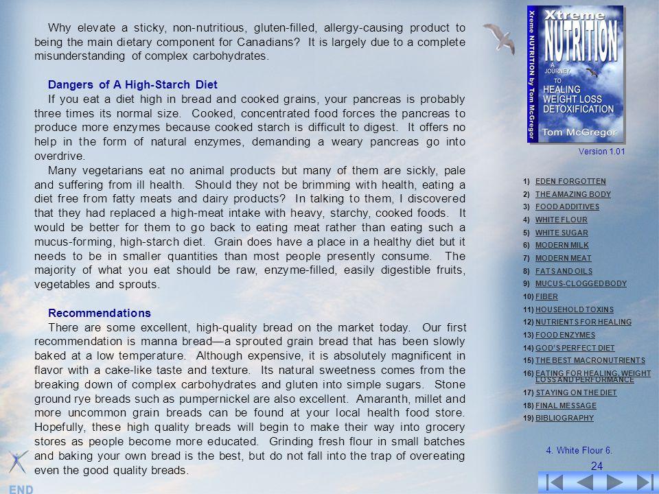 Dangers of A High-Starch Diet