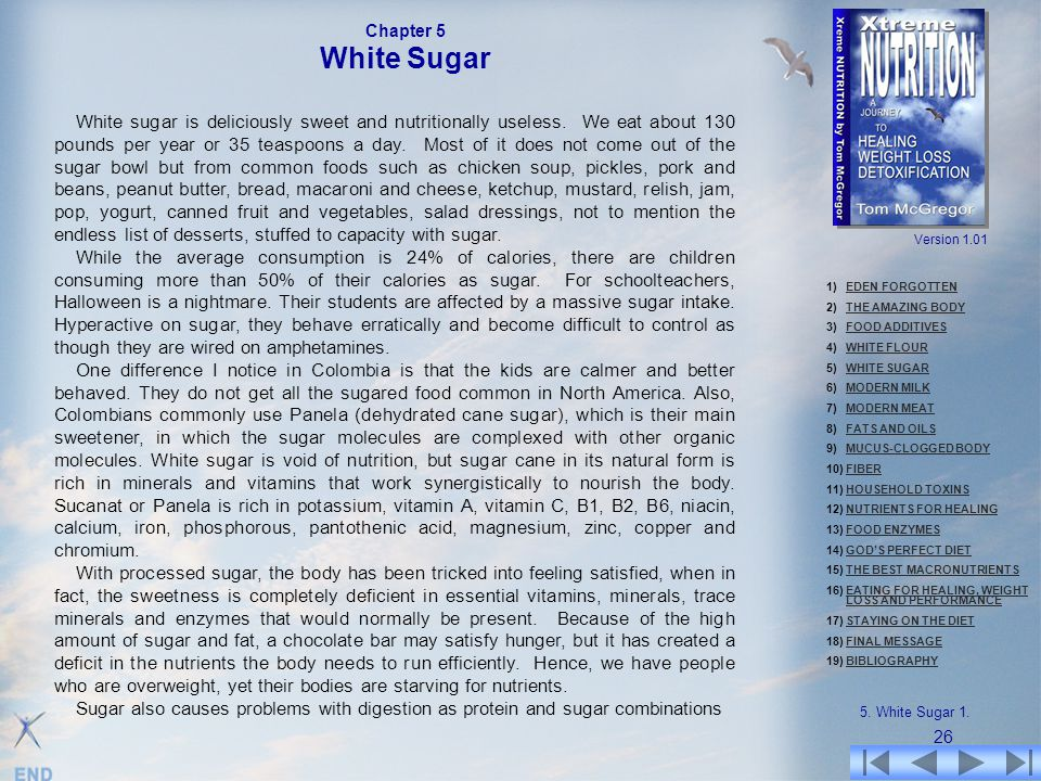 Chapter 5 White Sugar.