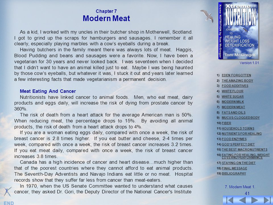 Chapter 7 Modern Meat.