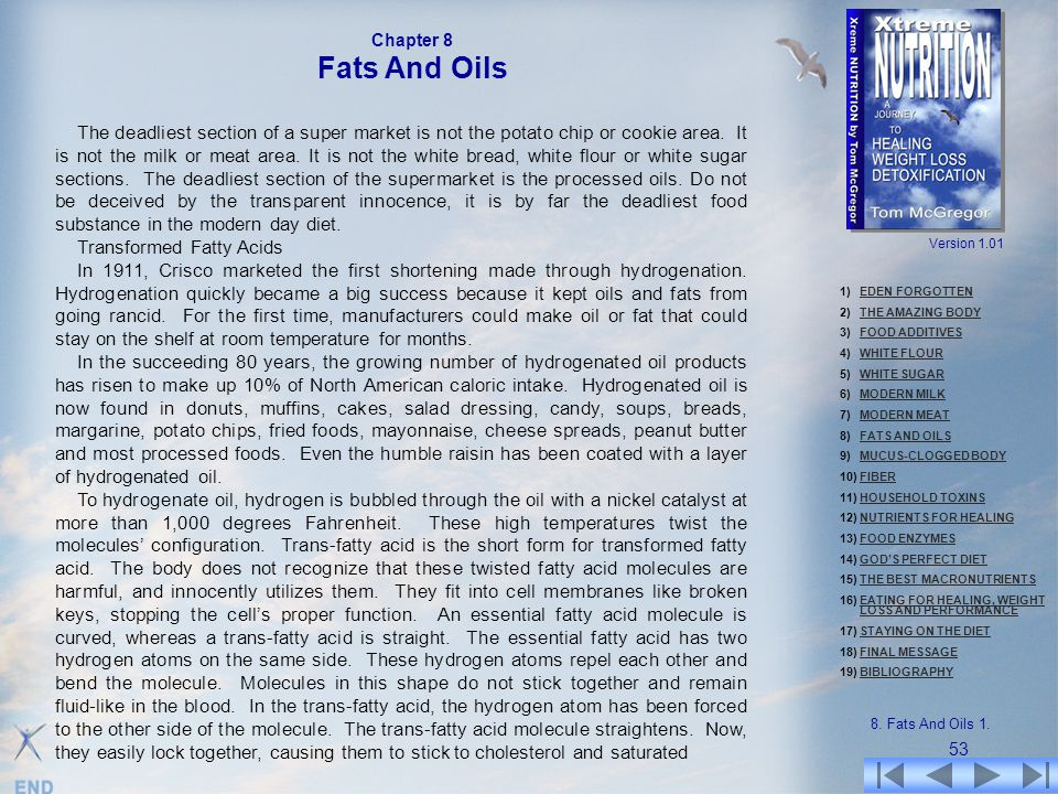 Chapter 8 Fats And Oils.