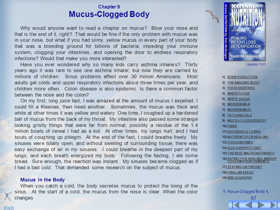Chapter 9 Mucus-Clogged Body.