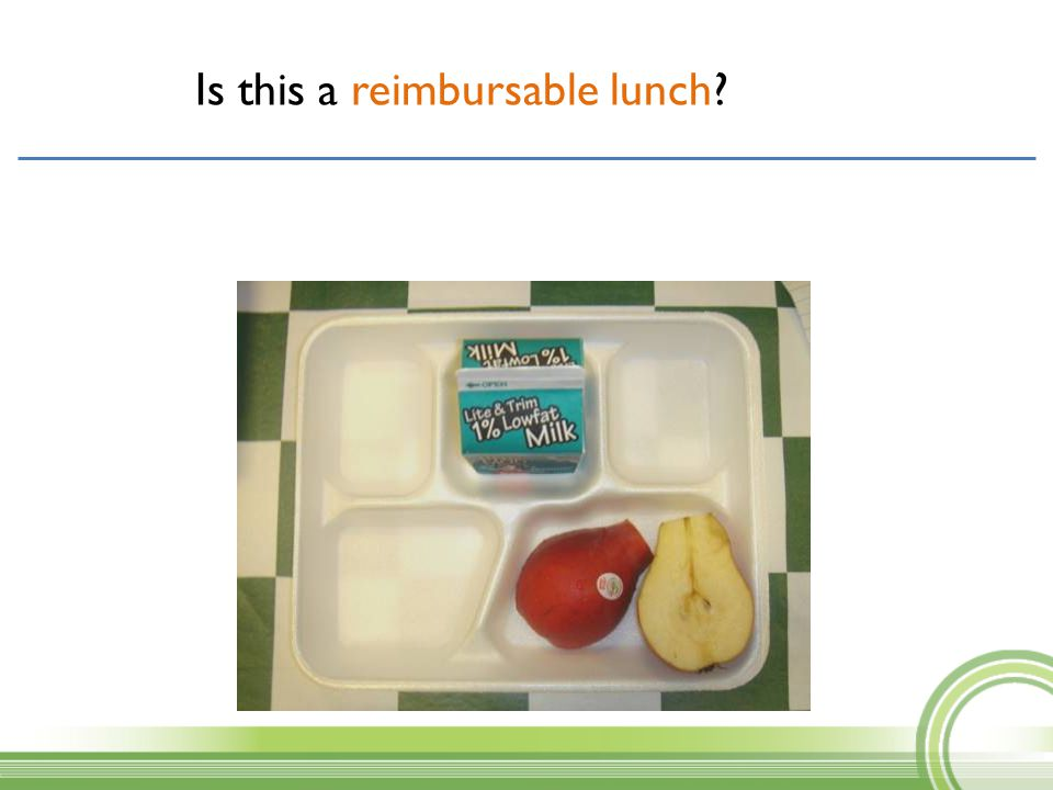 Is this a reimbursable lunch