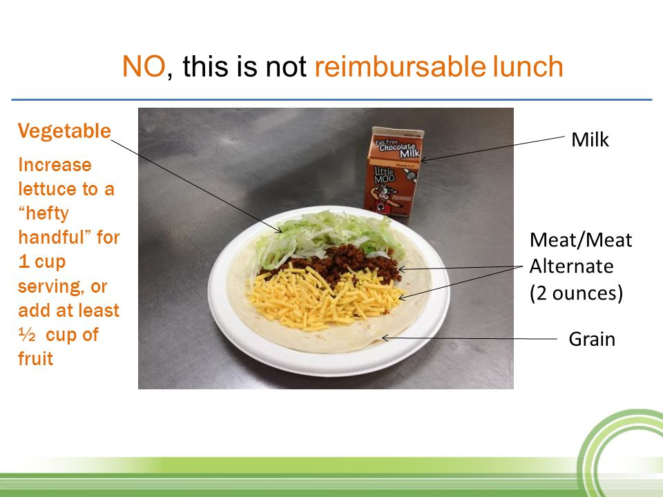 NO, this is not reimbursable lunch