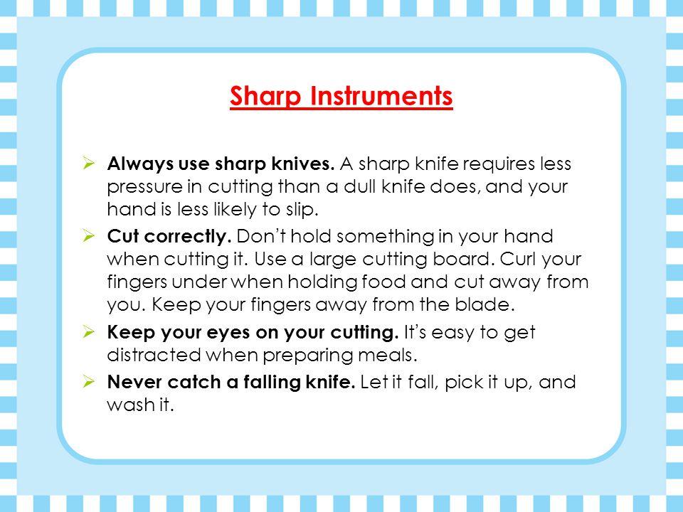 Sharp Instruments