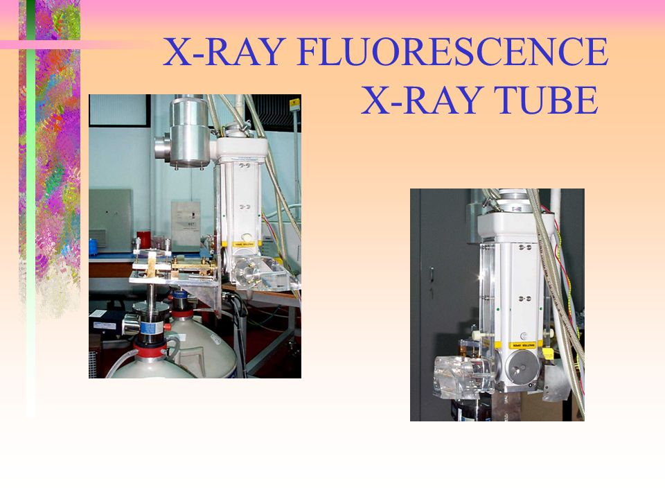X-RAY FLUORESCENCE X-RAY TUBE