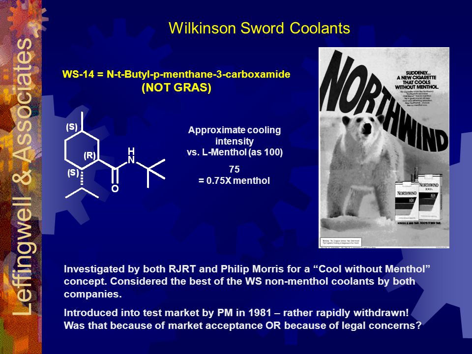 WS-14 = N-t-Butyl-p-menthane-3-carboxamide