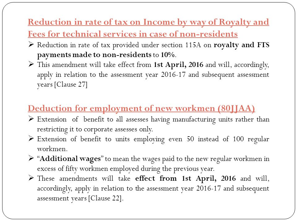 Deduction for employment of new workmen (80JJAA)