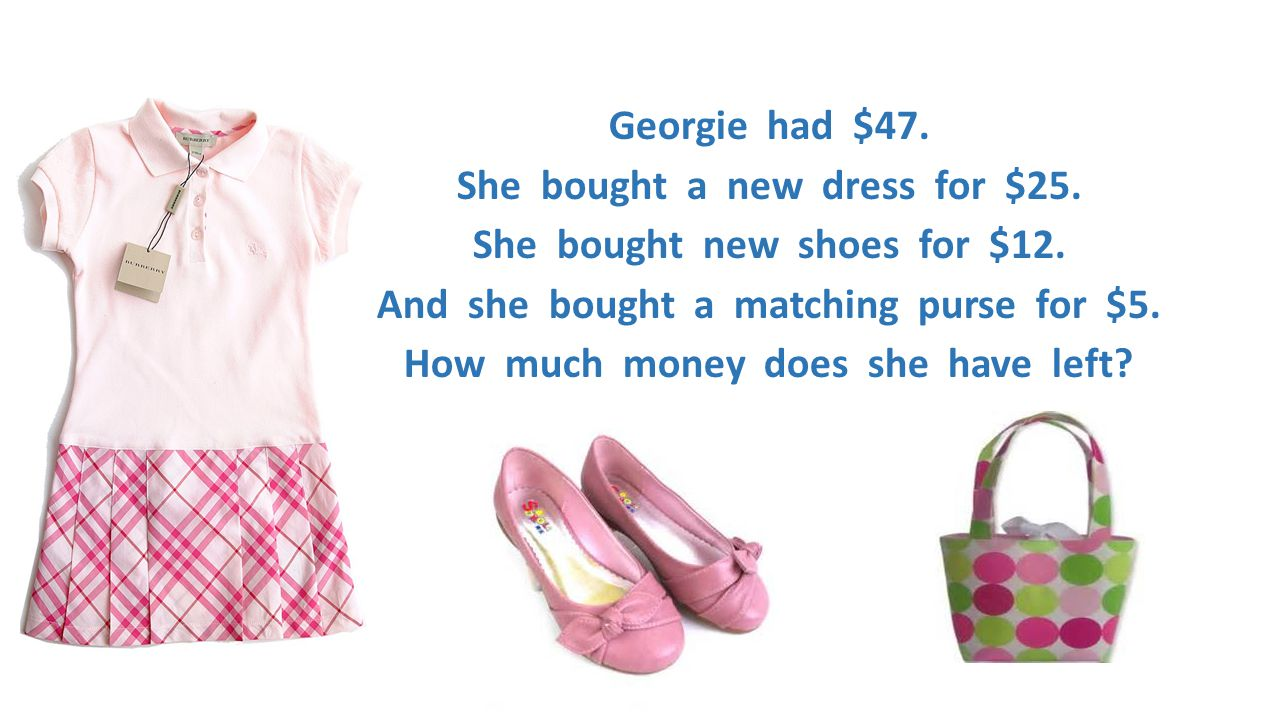 Georgie had $47. She bought a new dress for $25