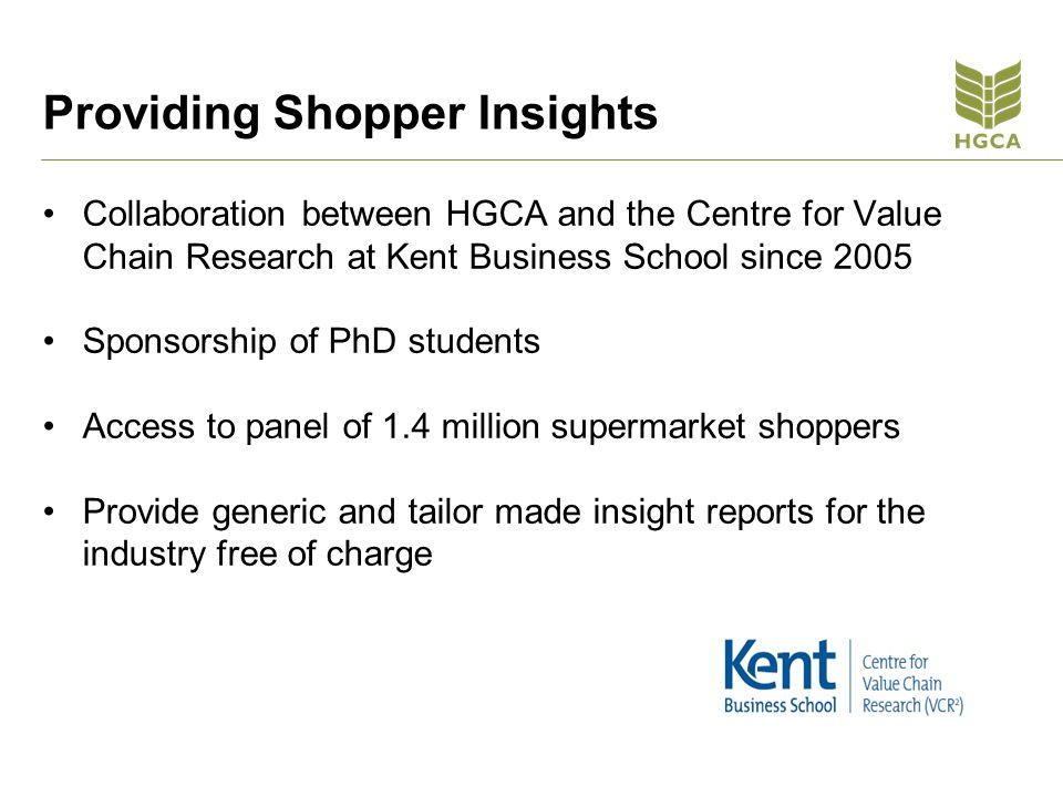 Providing Shopper Insights