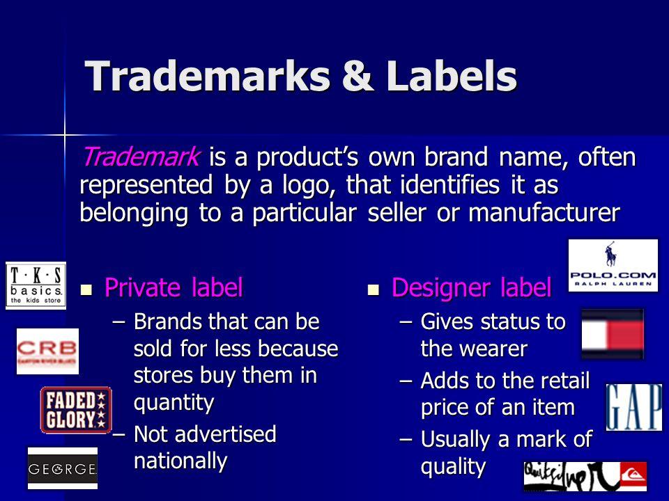 Trademarks & Labels