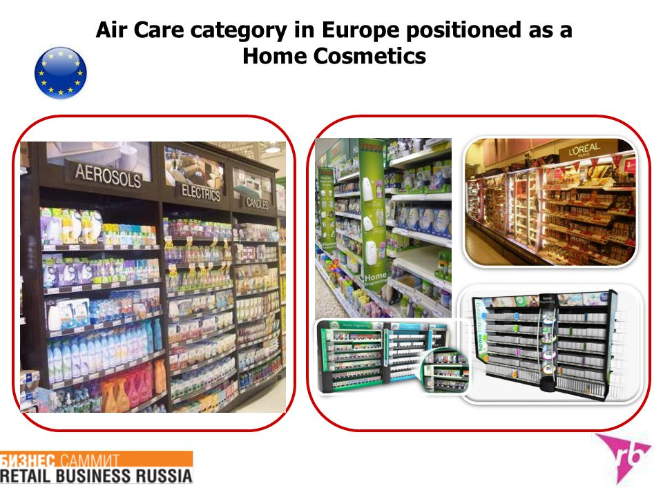 Air Care category in Europe positioned as a