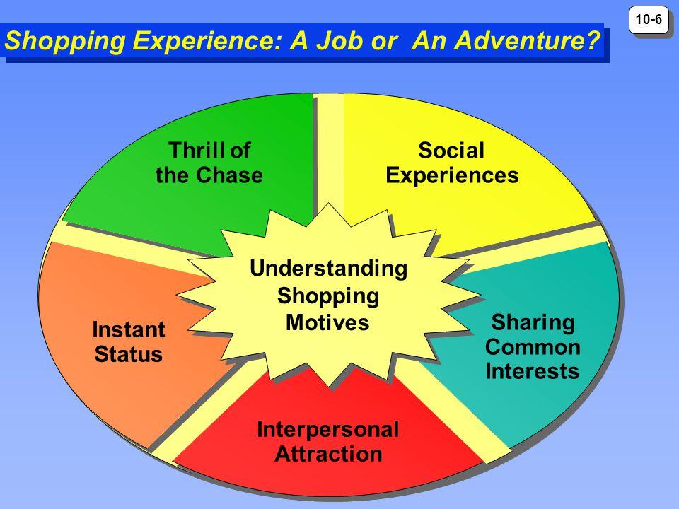 Shopping Experience: A Job or An Adventure