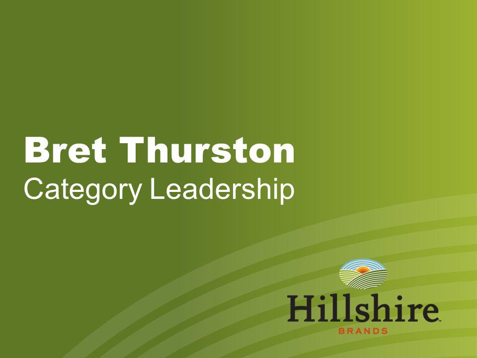 Bret Thurston Category Leadership