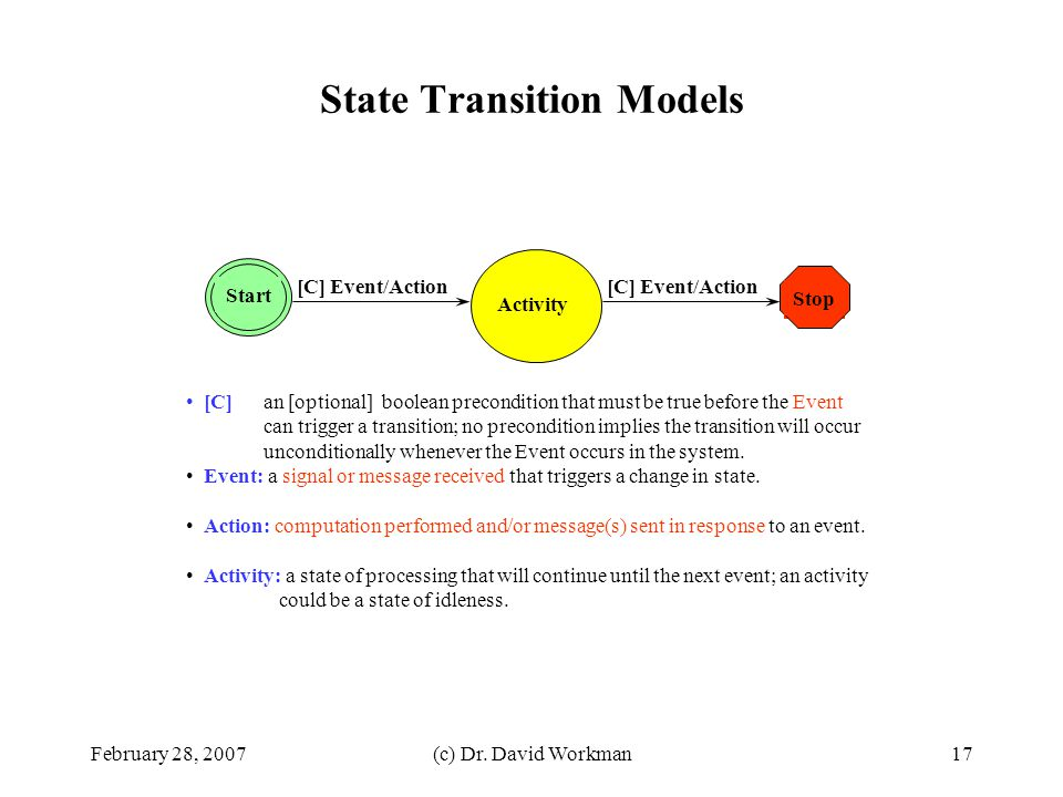 State Transition Models