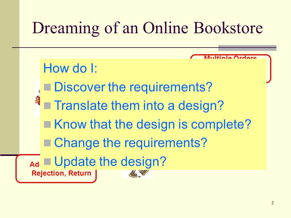 Dreaming of an Online Bookstore