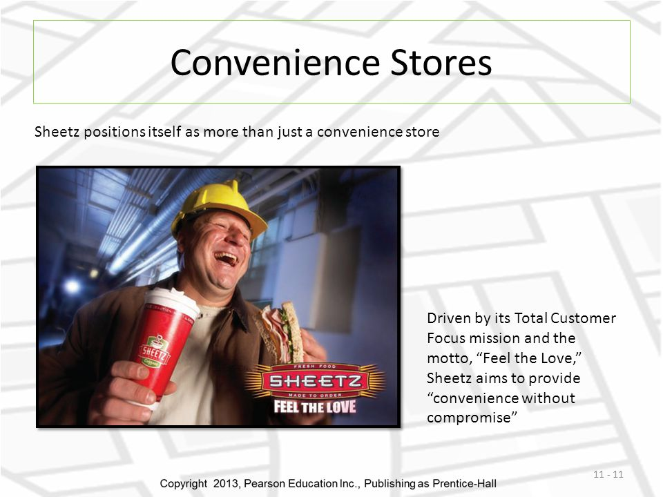 Convenience Stores Sheetz positions itself as more than just a convenience store.