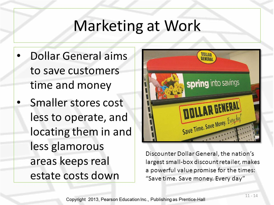 Marketing at Work Dollar General aims to save customers time and money