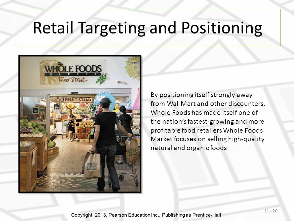 Retail Targeting and Positioning