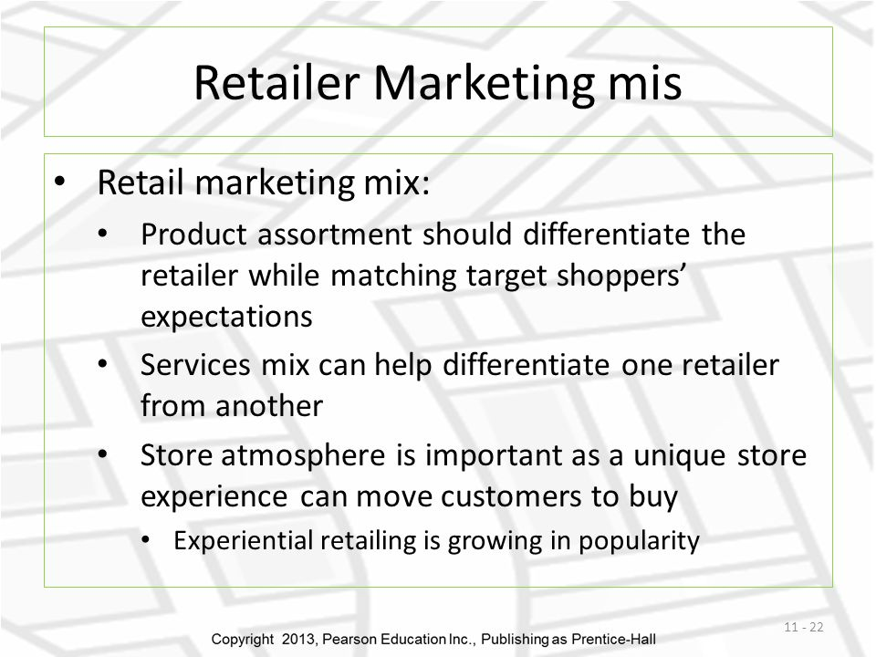 Retailer Marketing mis