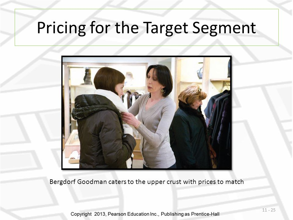 Pricing for the Target Segment