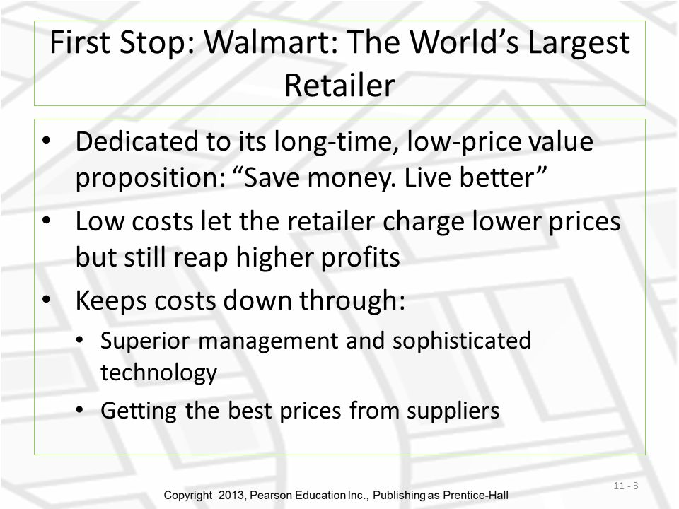 First Stop: Walmart: The World's Largest Retailer