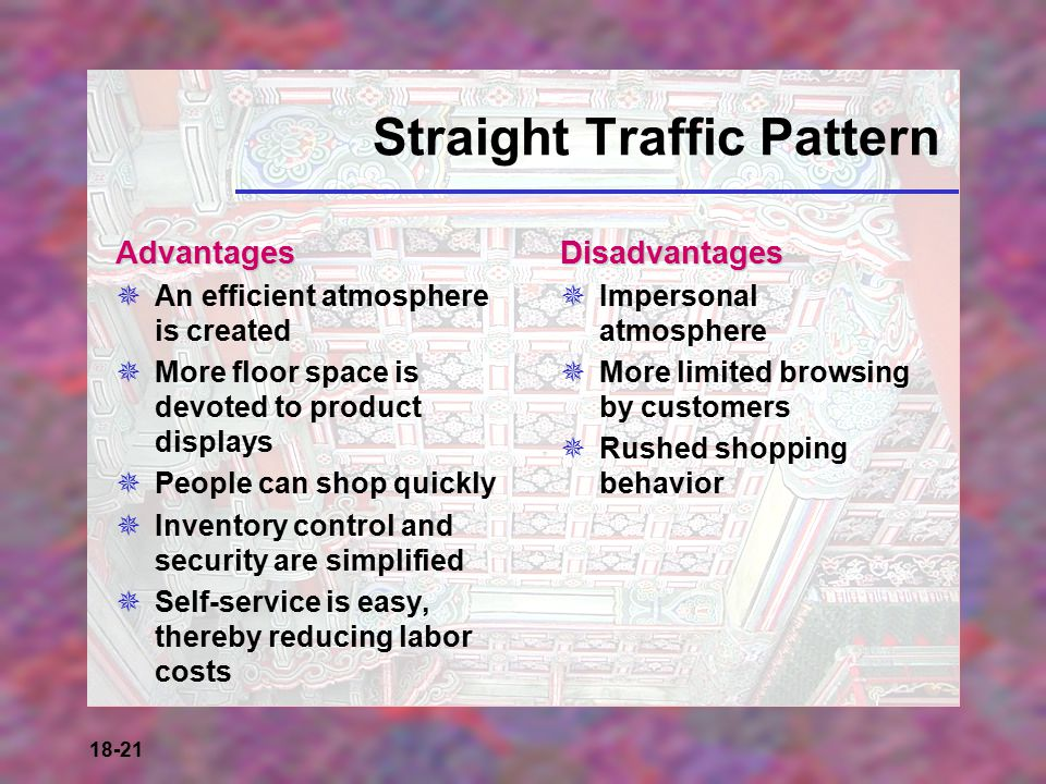 Straight Traffic Pattern