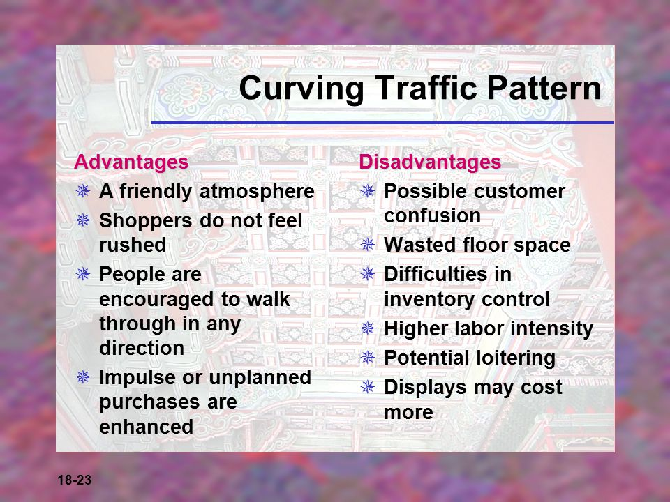 Curving Traffic Pattern