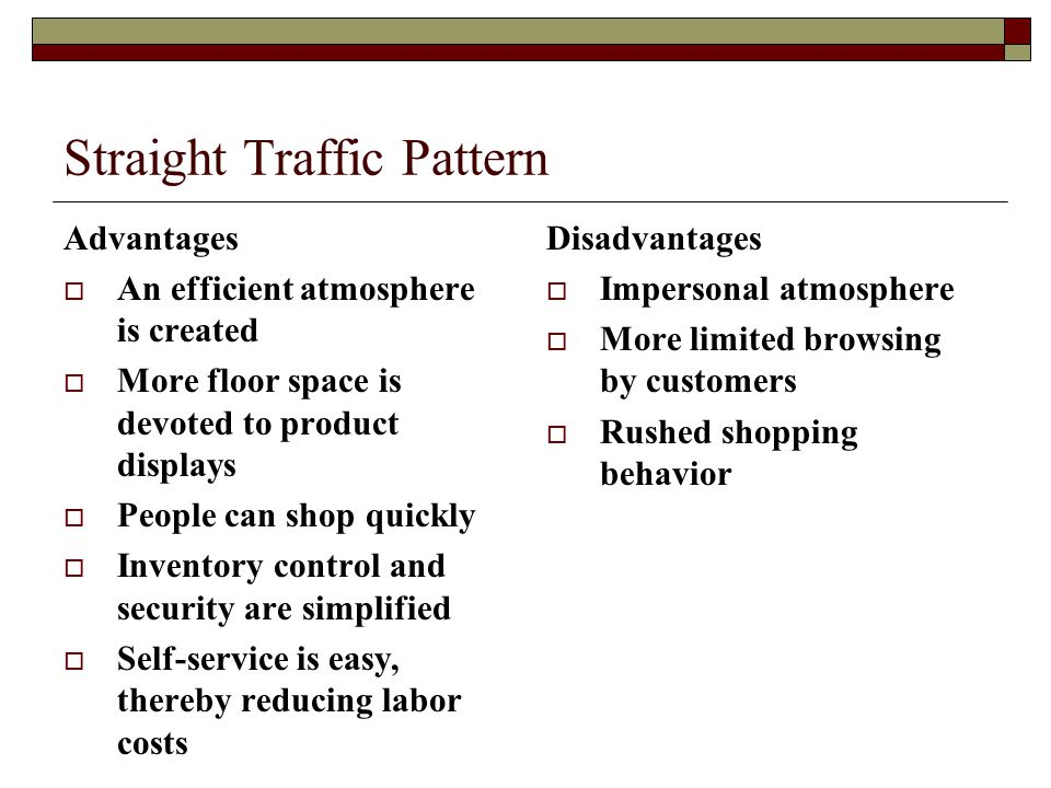 Straight Traffic Pattern