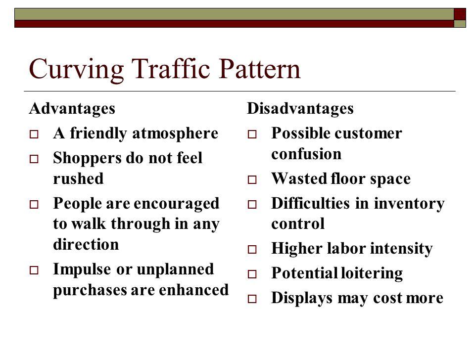 Curving Traffic Pattern