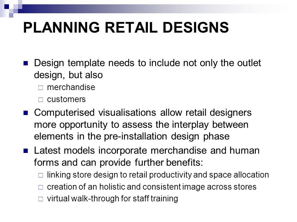 PLANNING RETAIL DESIGNS