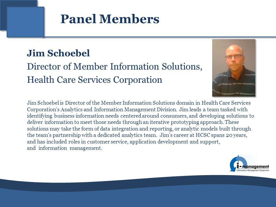 Director of Member Information Solutions,