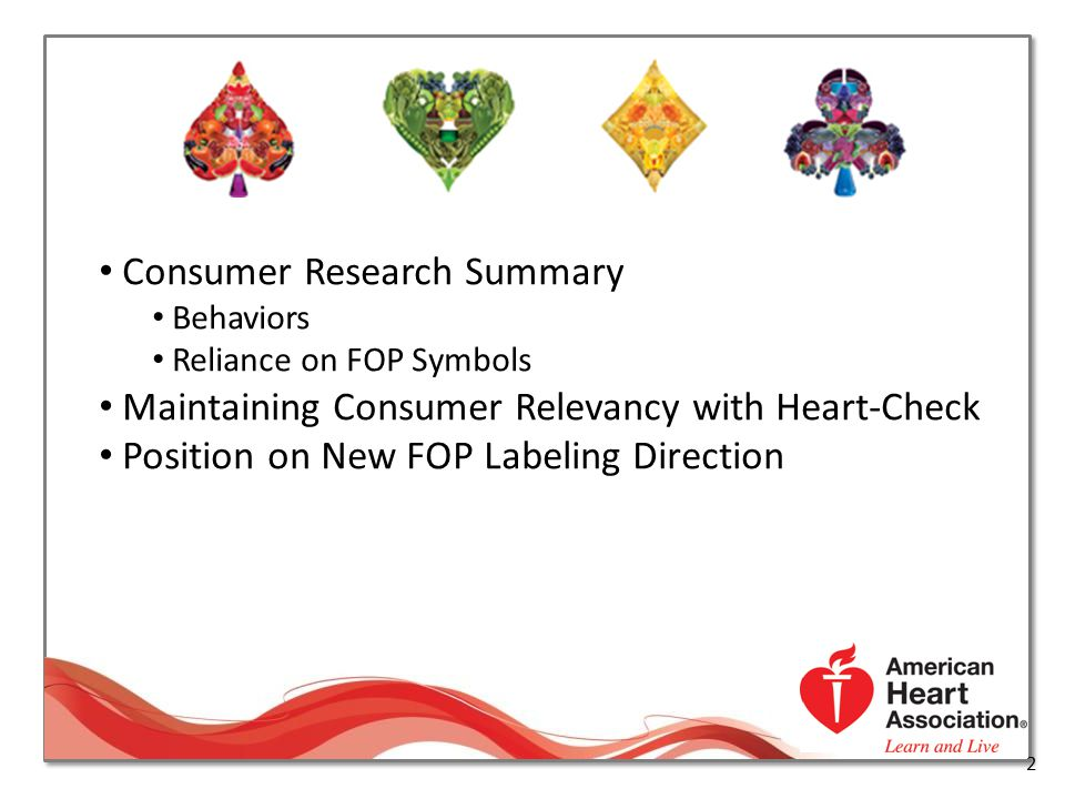 Consumer Research Summary