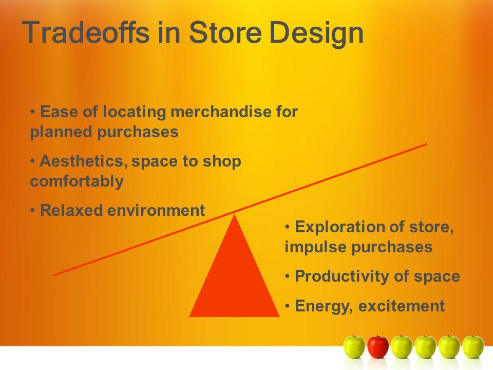 Tradeoffs in Store Design