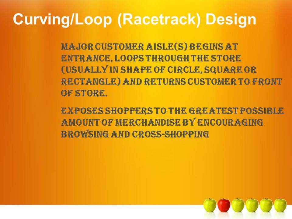 Curving/Loop (Racetrack) Design