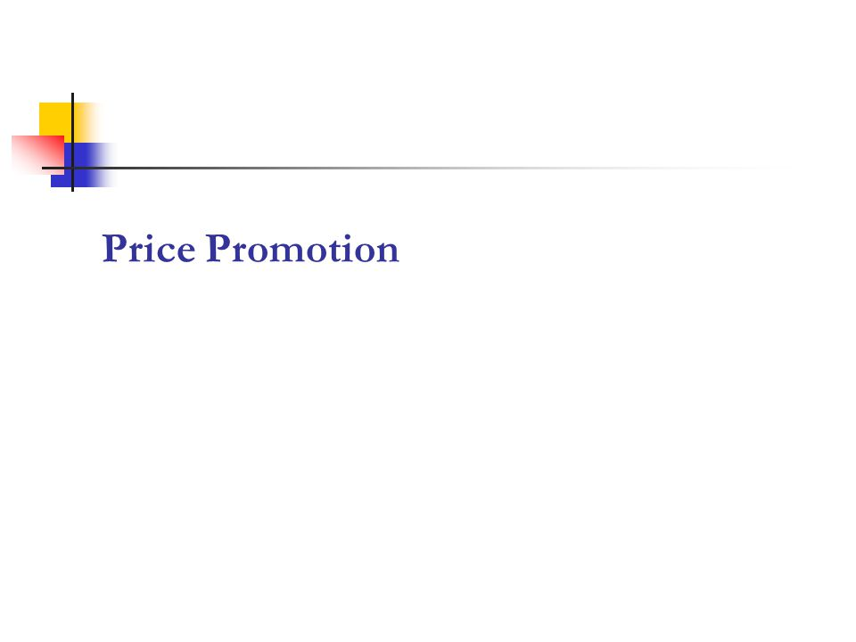 Price Promotion 10
