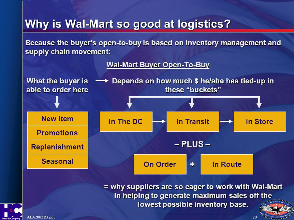 Why is Wal-Mart so good at logistics