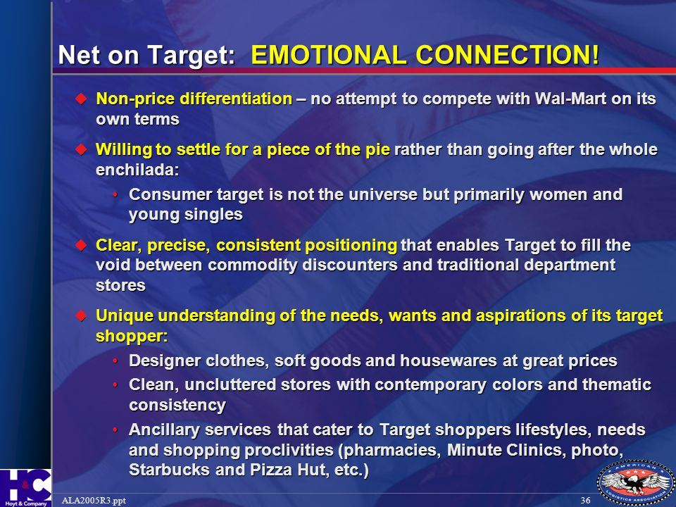 Net on Target: EMOTIONAL CONNECTION!