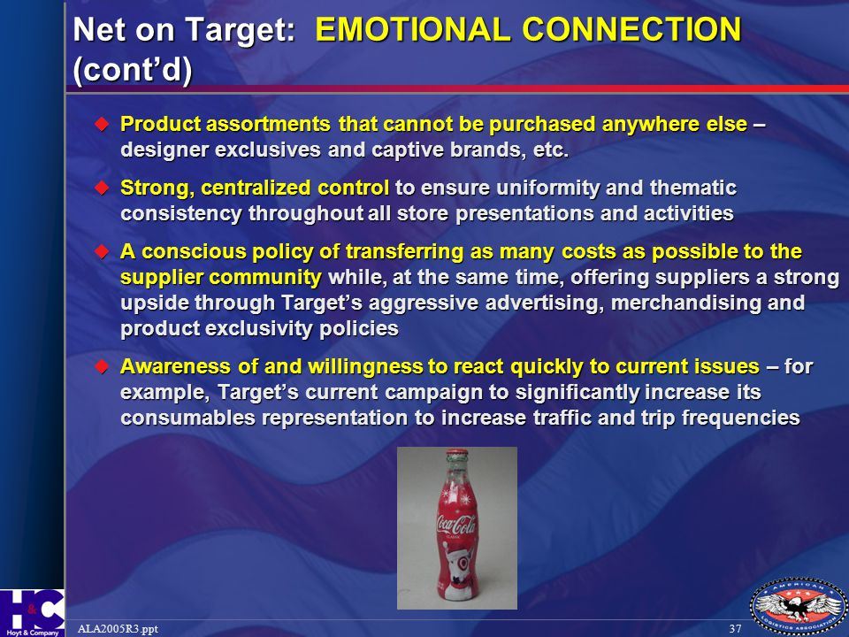 Net on Target: EMOTIONAL CONNECTION (cont'd)