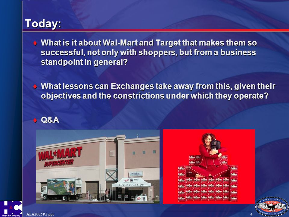Today: What is it about Wal-Mart and Target that makes them so successful, not only with shoppers, but from a business standpoint in general