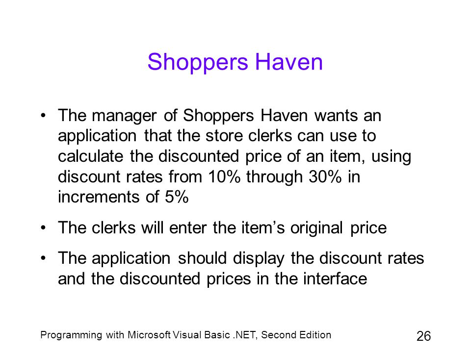 Shoppers Haven