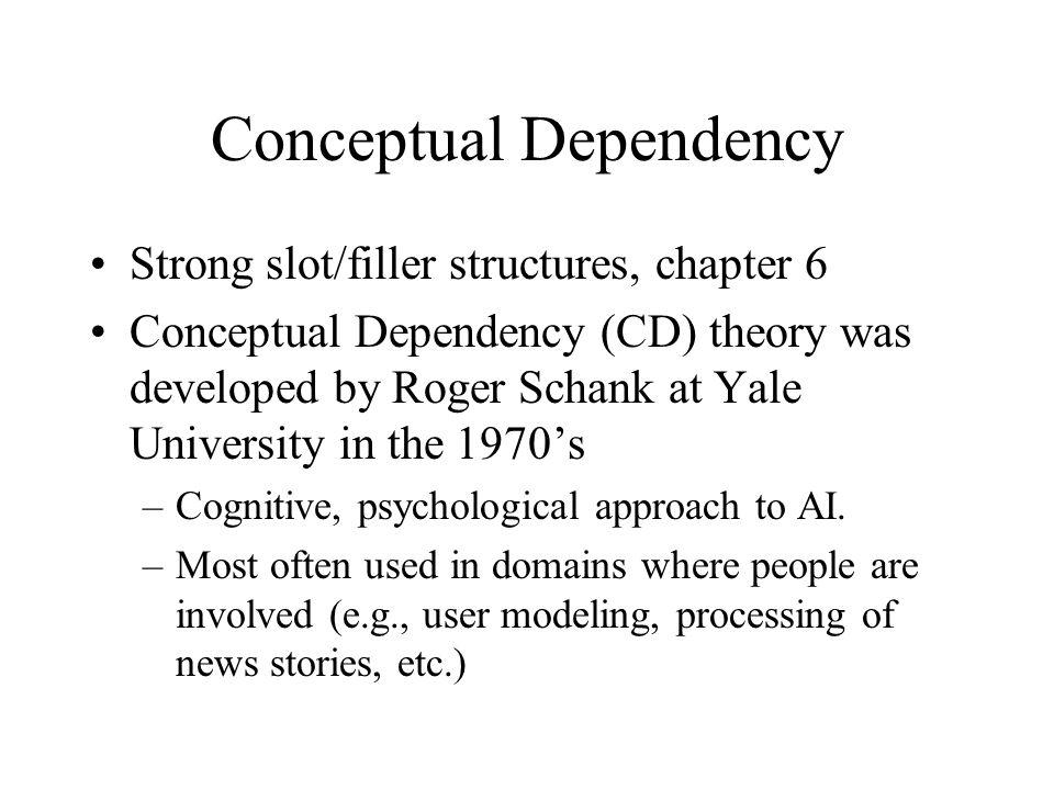 Conceptual Dependency