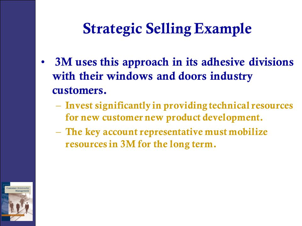Strategic Selling Example