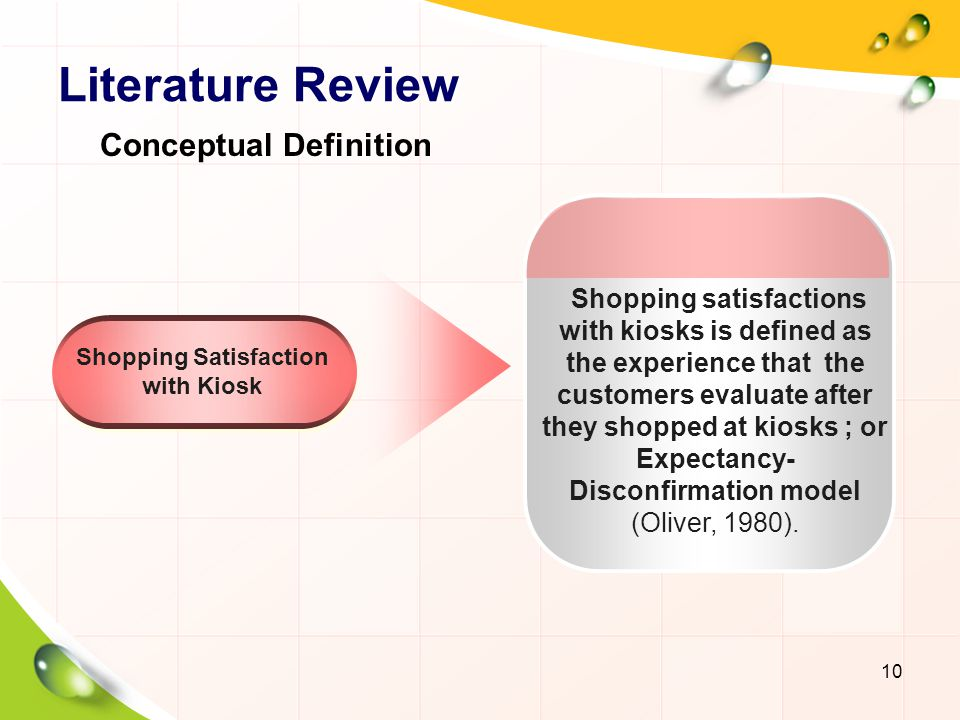 Shopping Satisfaction with Kiosk