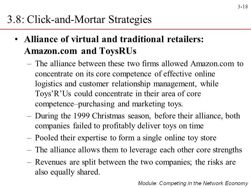 3.8: Click-and-Mortar Strategies